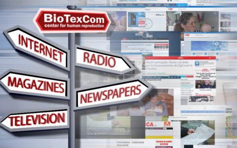 «BioTexCom» dans des médias de masse : qu'est-ce que les éditions européennes disent du centre de la médecine reproductive à Kiev.