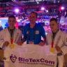 Dans l'équipe de Biotexcom il y a trois champions du monde de ju-jitsu brésilien.